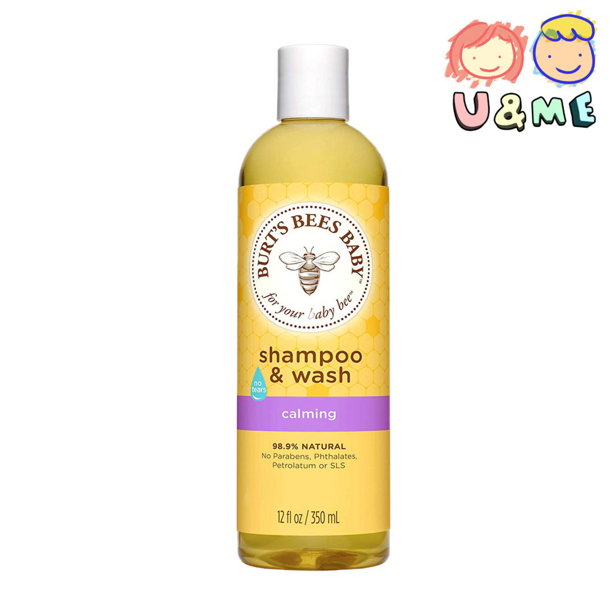 Baby Bee Shampoo & Wash 350 ml - Calming (Parallel Import)