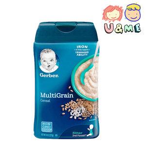 GERBER 美國嘉寶 混合穀物嬰兒米粉米糊 227g (平行進口貨) 227g I EXP:01/2022
