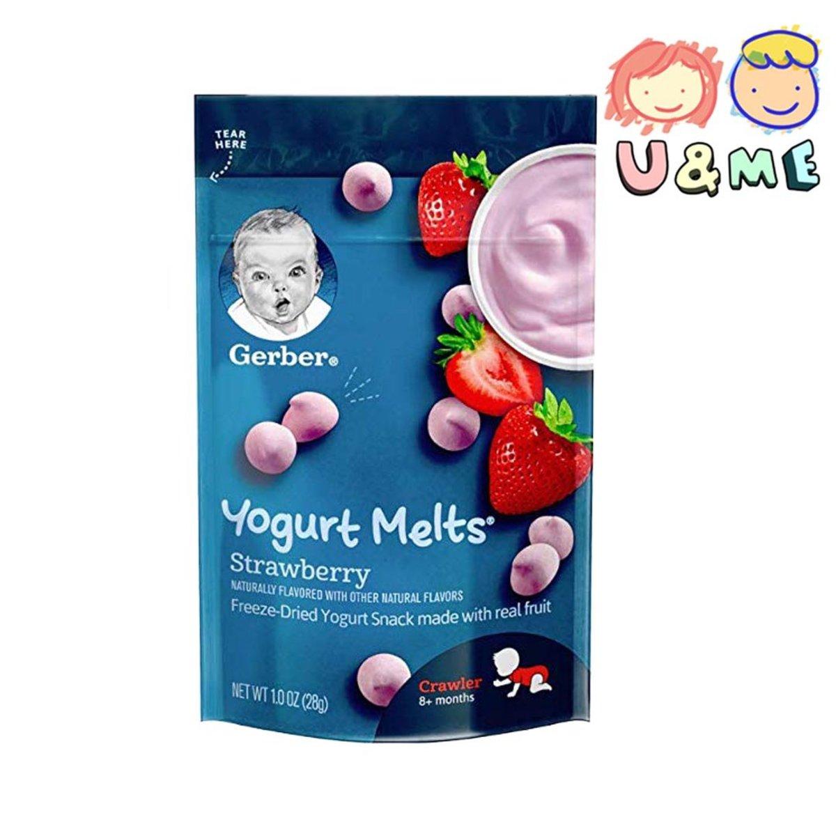 Yogurt Melts -Strawberry 28g (Parallel Import)