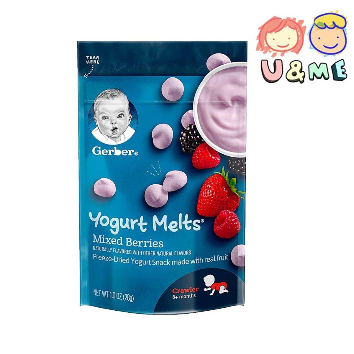 Yogurt Melts - Mixed Berries 28g (Parallel Import)