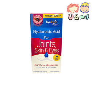 Hyalogic 透明質酸咀嚼片無糖HA 關節補充劑 (適用於關節支持) 60 HA錠劑 (平行進口貨)