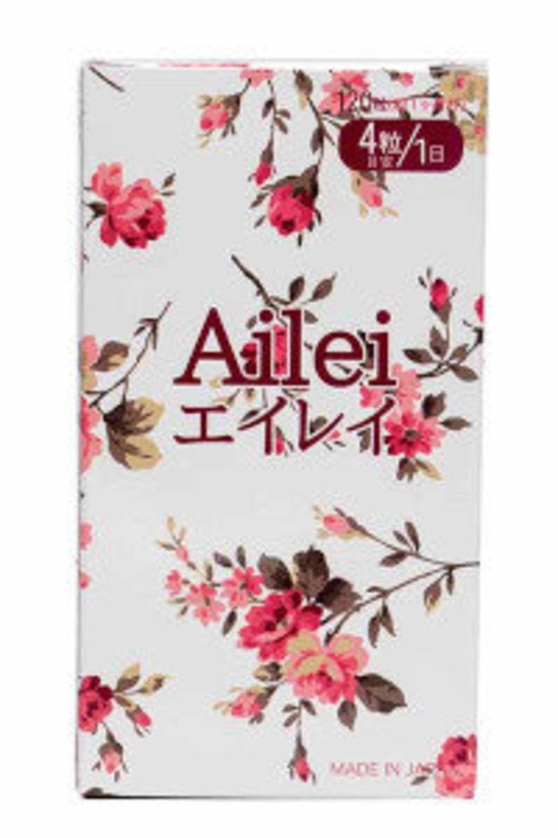 Ailei 艾雷 – 舒缓月經不適配方 120粒 (30日)