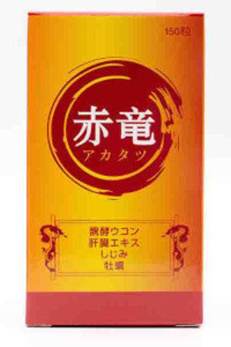 Akatatsu 阿卡塔茨 - 護肝臟排毒配方 150片