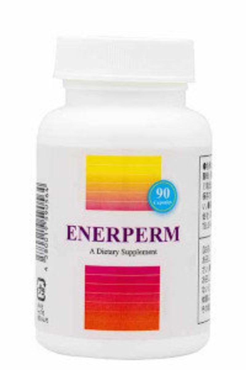 Enerperm – Male Fertility Supplement 90 capsules