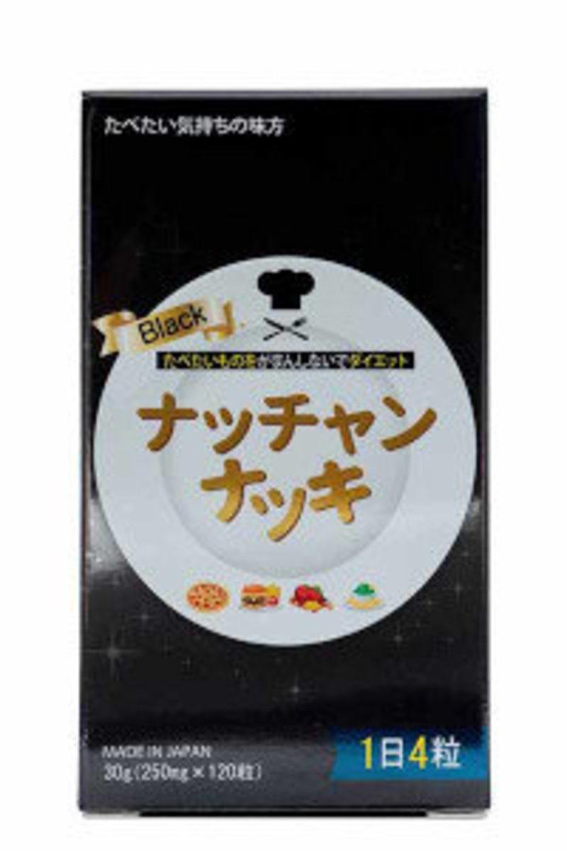 Nachannatsuki Black – Slimming Dietary Supplement 120 Tablets (30 days)