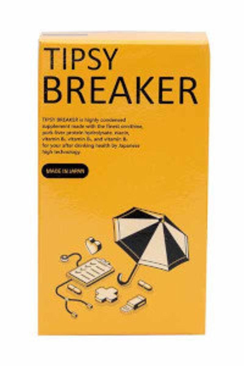 Tipsybreaker 特比斯貝克 – 宿醉恢復補充劑 90片 (30日)