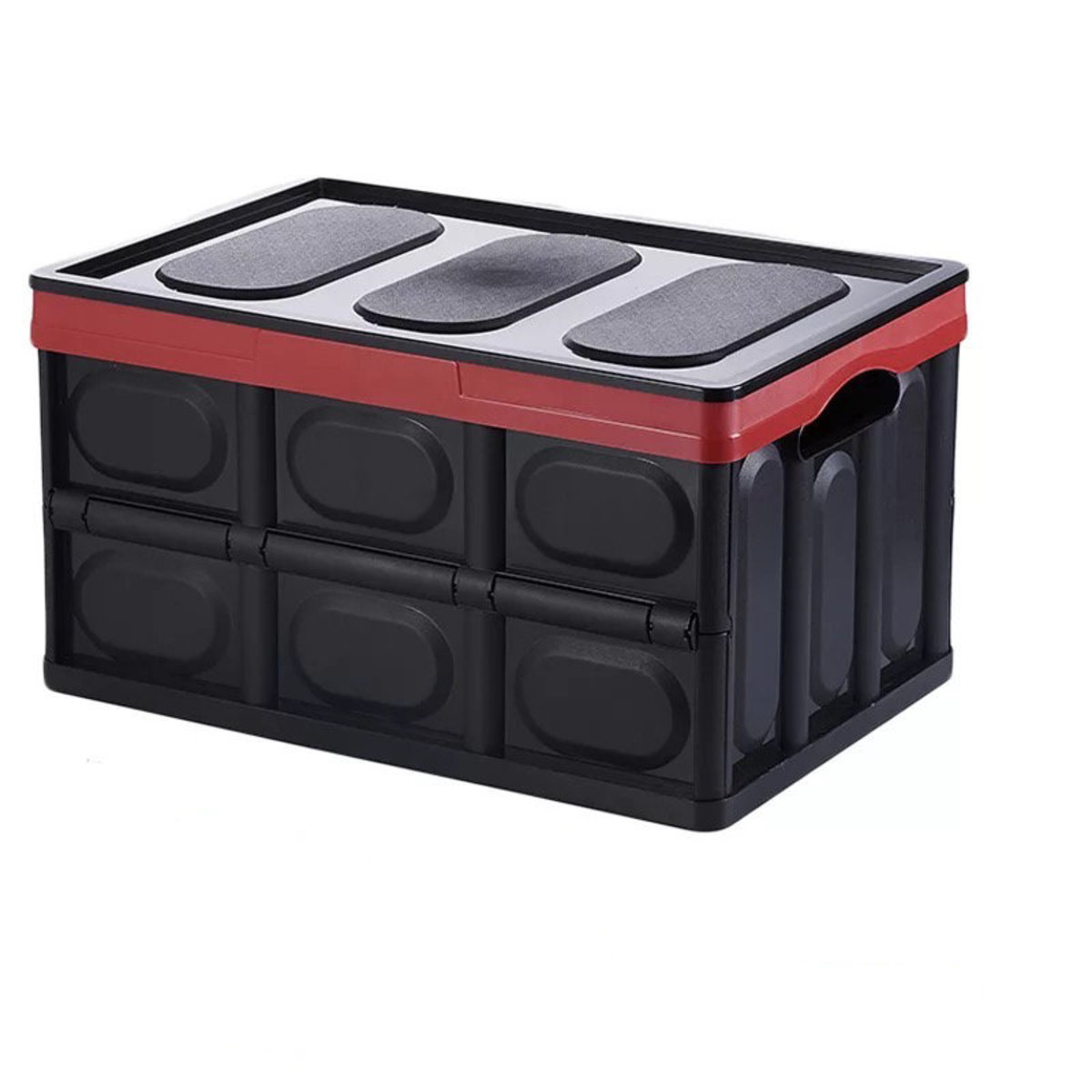 Multi-function Folding Large Storage Box - Black