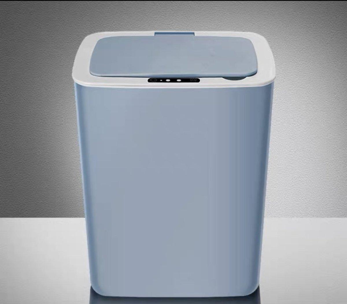 Intelligent Trash Can smart rubbish bin 14L - Blue