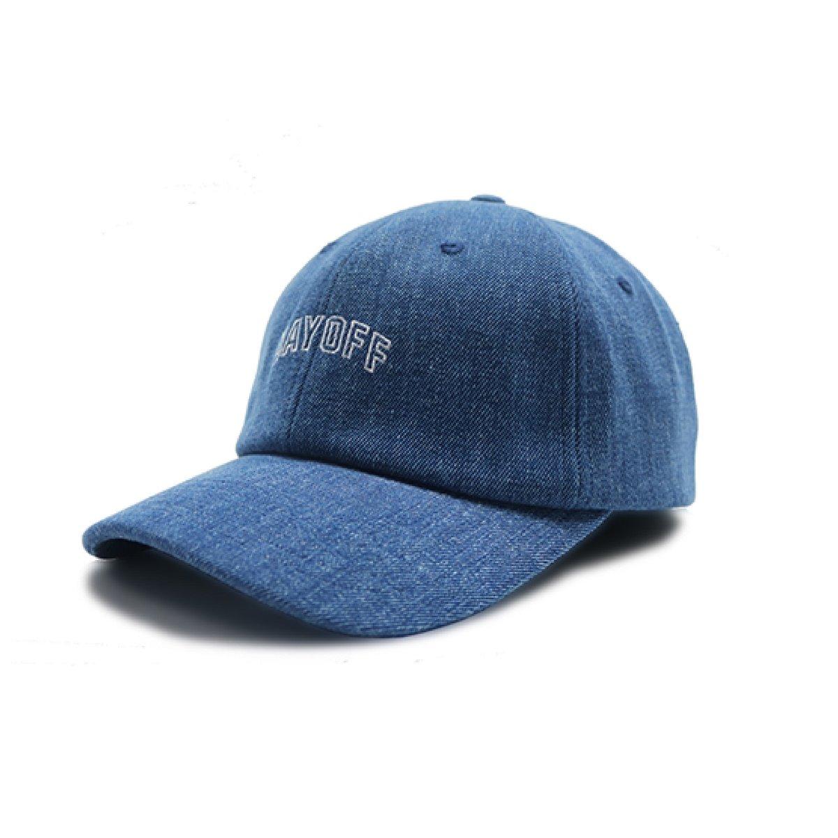 香港限定棒球帽 _ DAYOFF (牛仔布藍色)