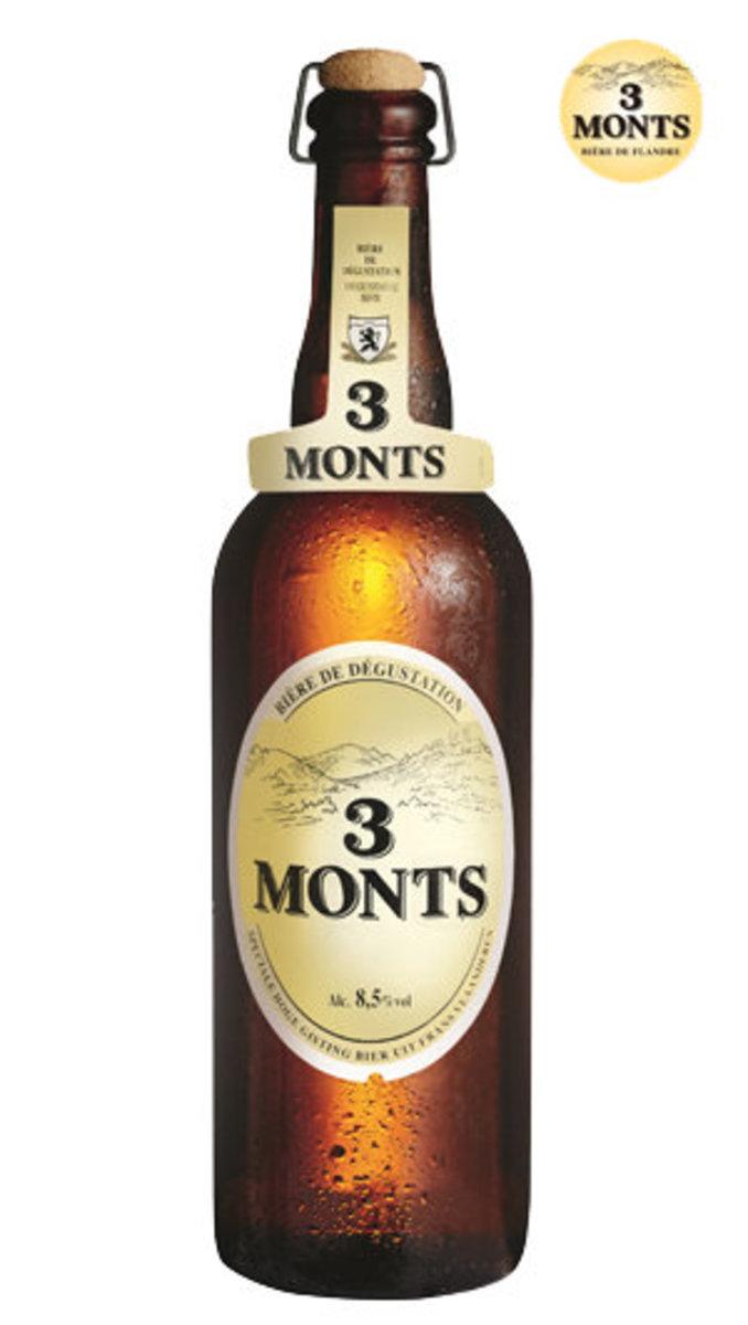 3 MONTS BIERE DE FLANDRE - 750mL