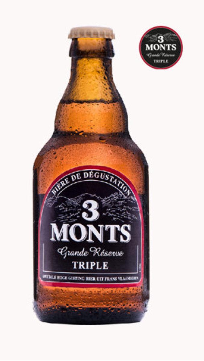 3 MONTS [法國制造手工啤] 特級麥啤 - 330mL