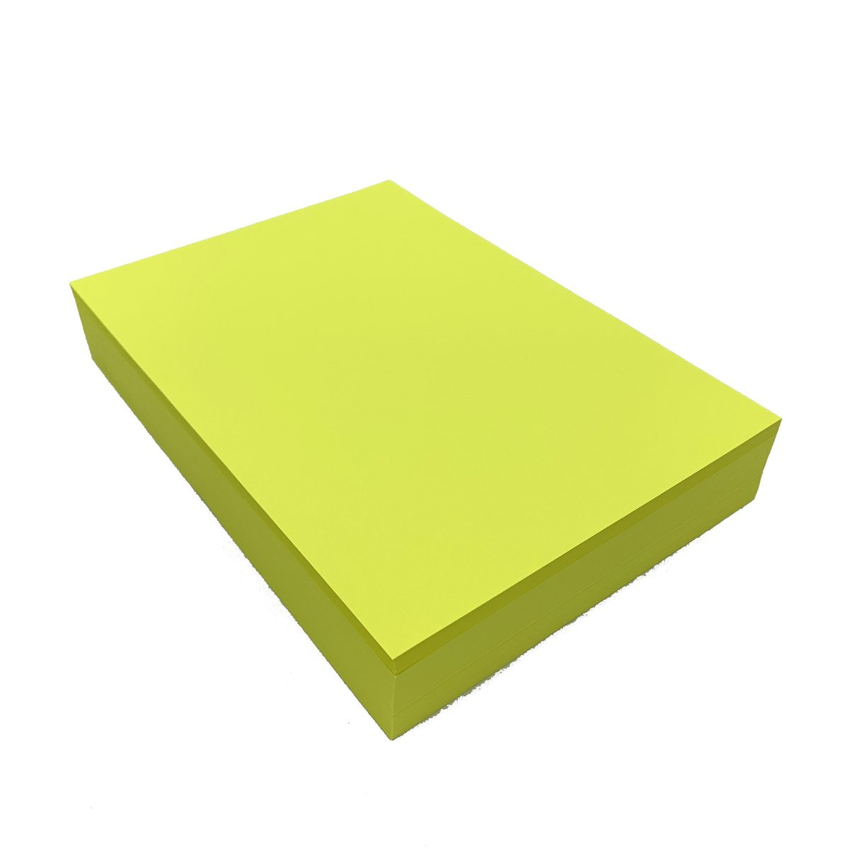 75gsm A4 Fluorescent Copy Paper - Yellow (500sheets)