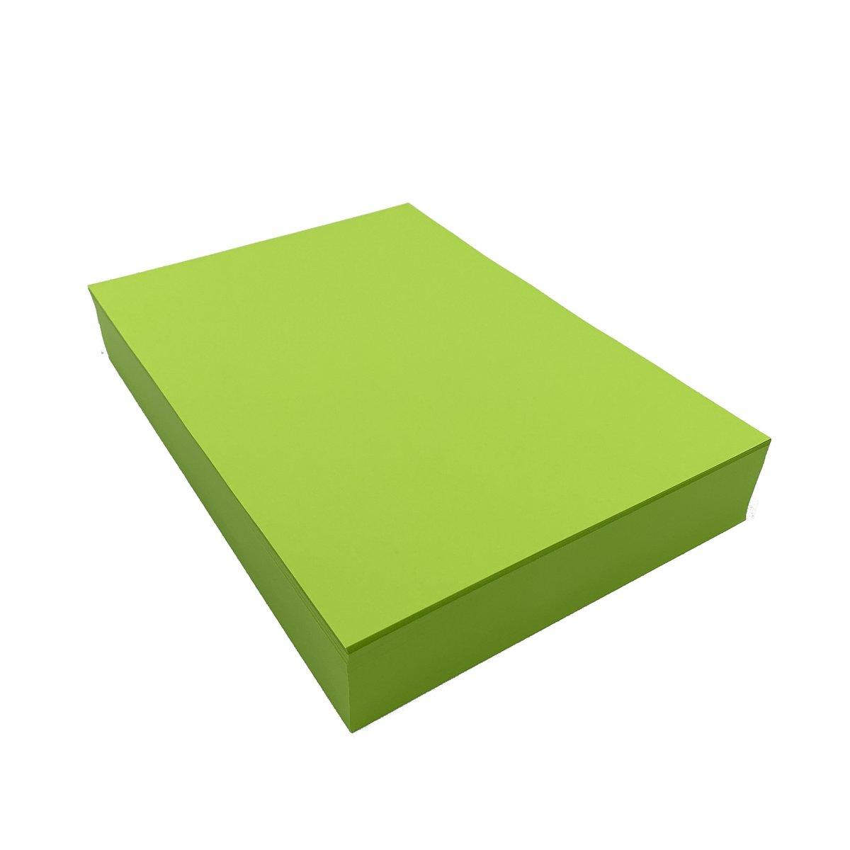 75克 A4 熒光色影印紙–綠 (500張)