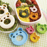 Animals Bento Mold Punching Die Set 4 Pieces [Made in Japan]