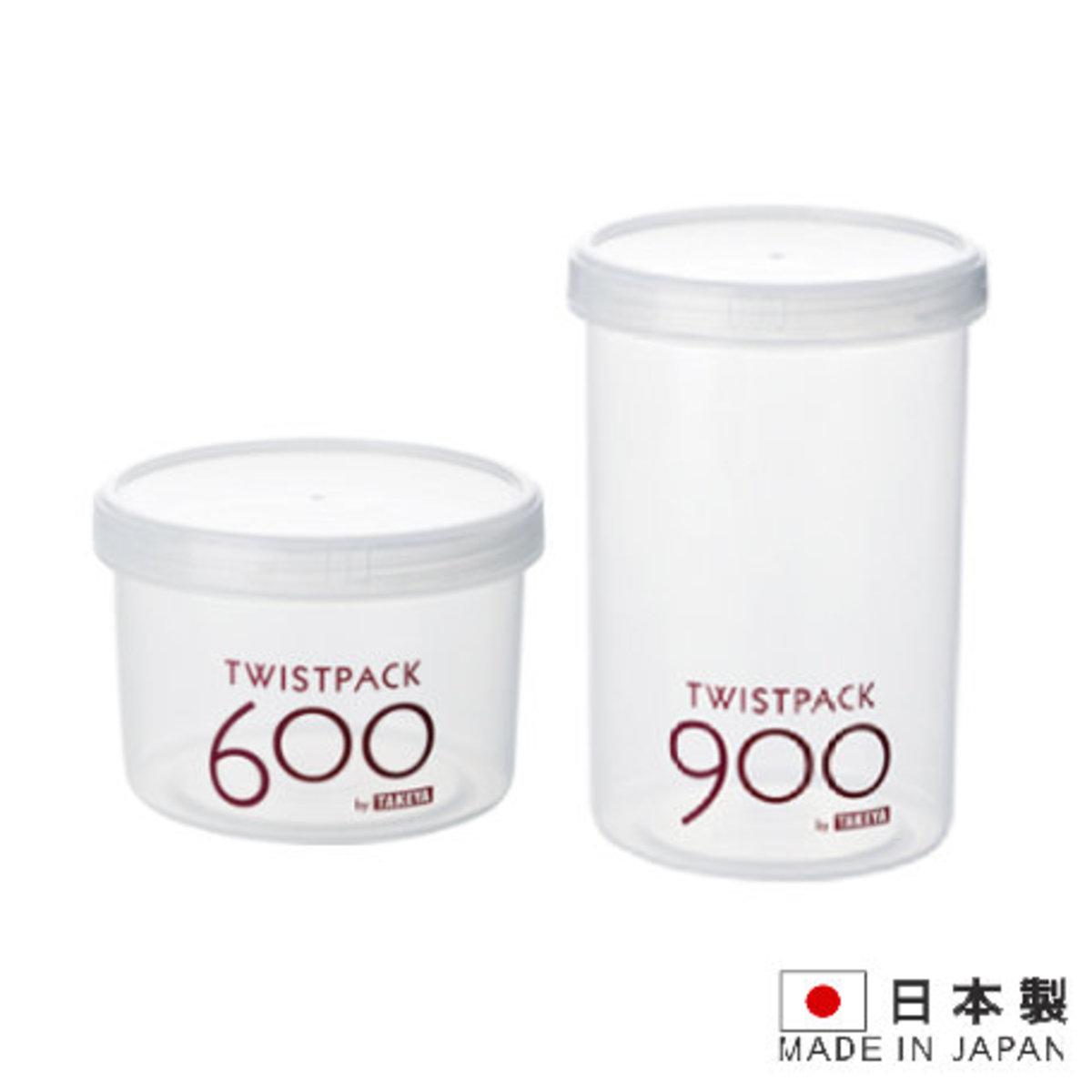 900 Twist Pack 透明密封膠盒_多種容量可選[日本制]