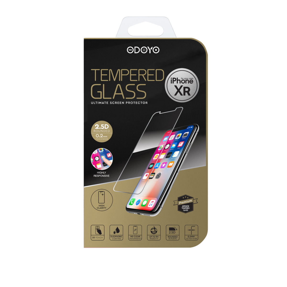 0.2mm Tempered Glass Ultimate Screen Protector for iPhone XR