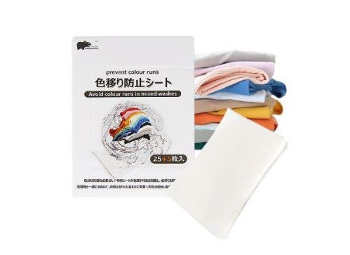 洗衣防染色吸色片