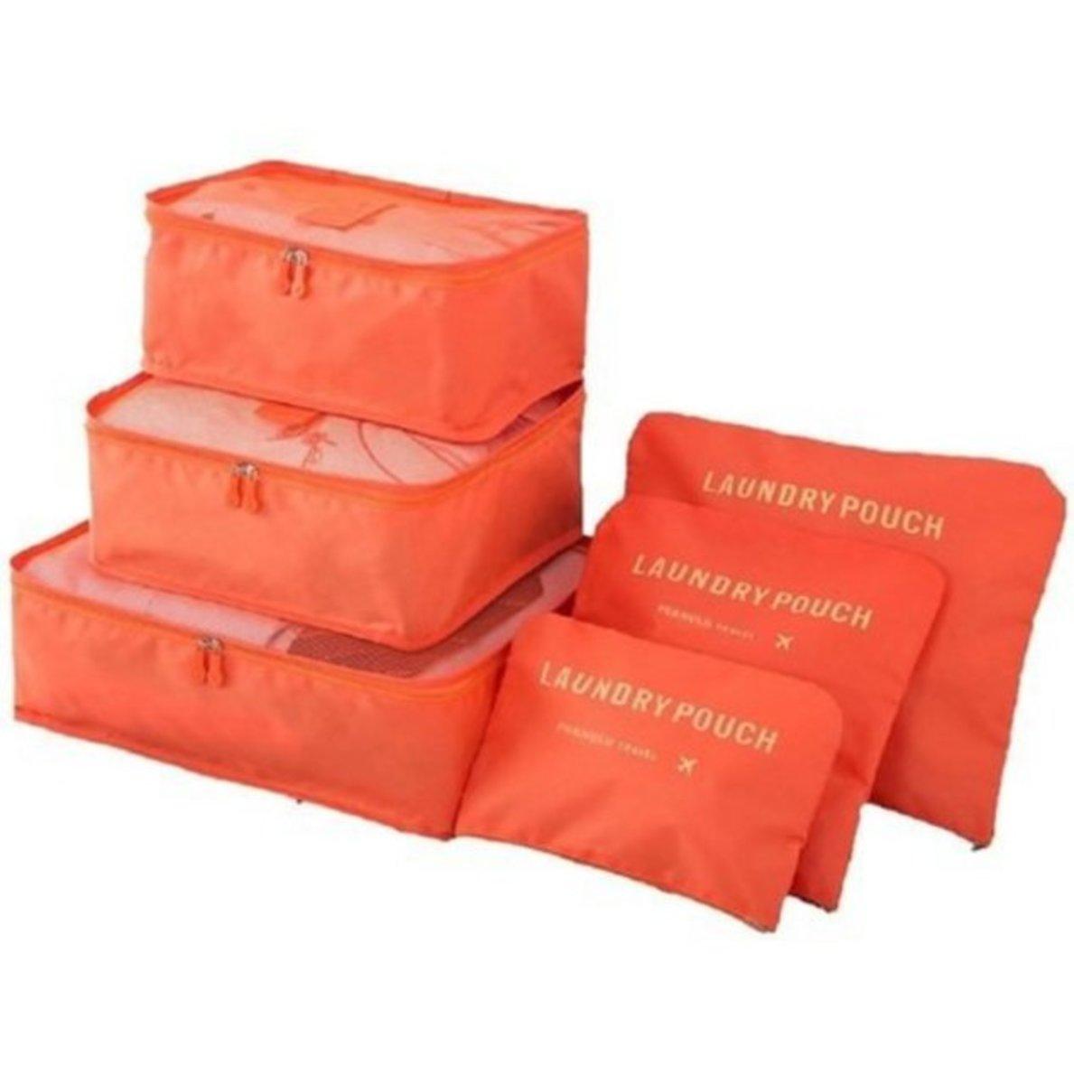 Travel storage bag orange