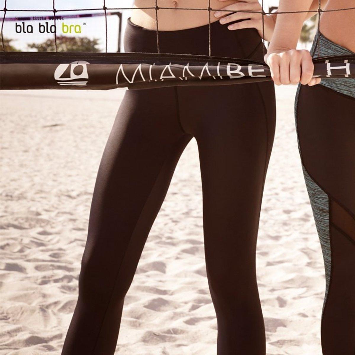 Mesh Panel Legging