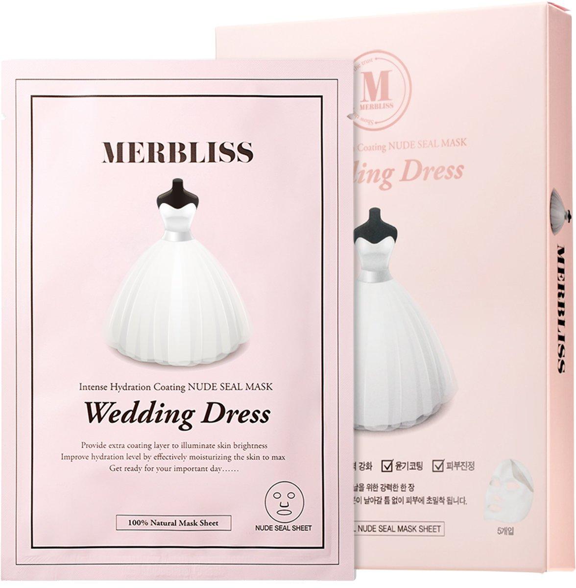 Wedding Dress Nude Seal Mask(bc:8809127535370)