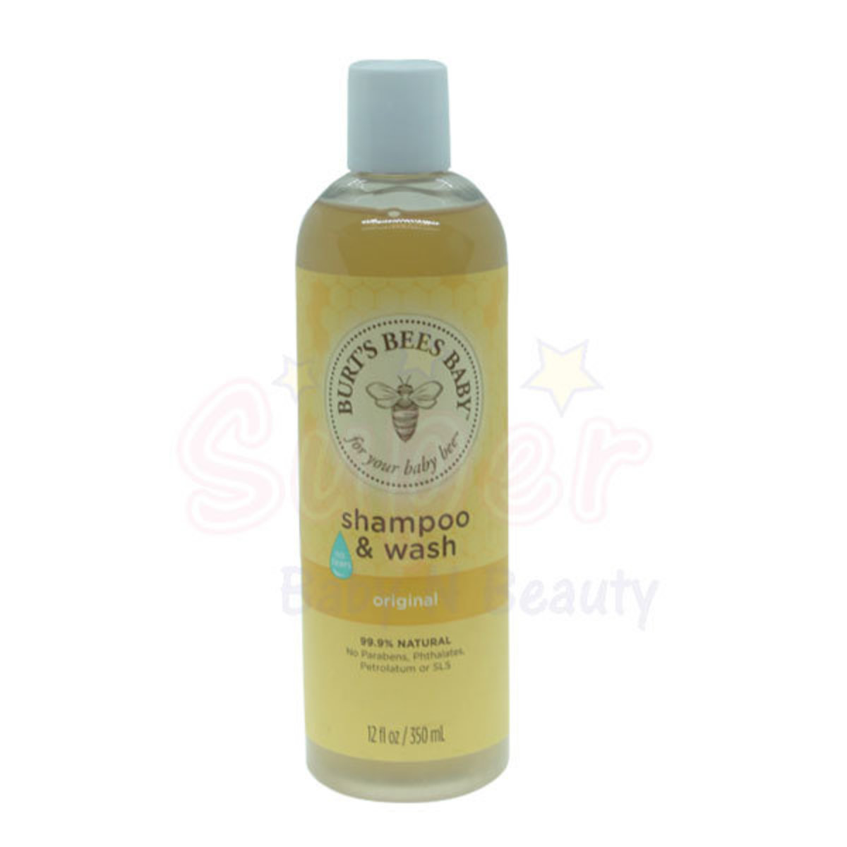 Little Bee Natural Bath Shampoo 350ml (non-astringent formula)
