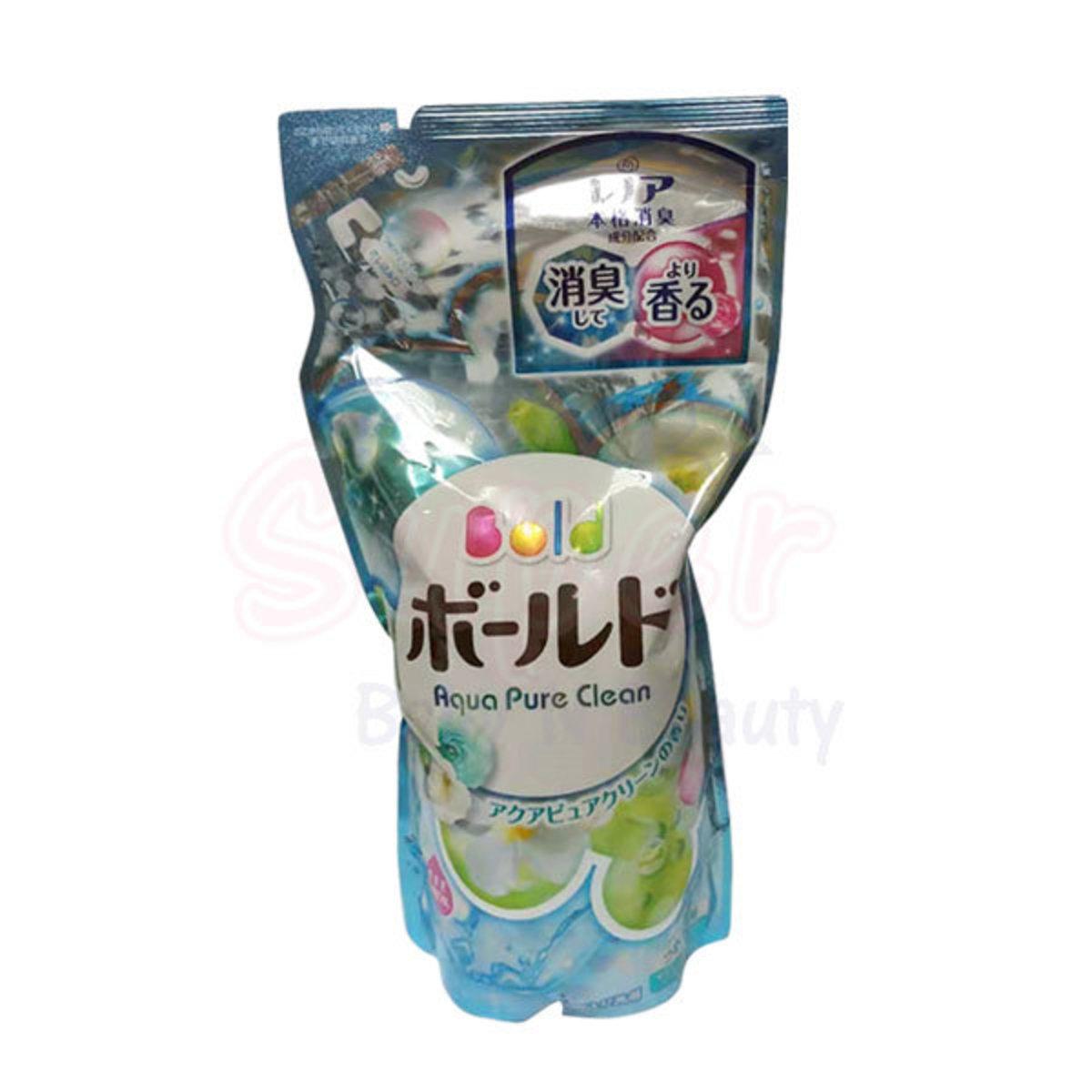 P&G Bold 花香香味柔順洗衣液(補充裝) 715g (粉藍)