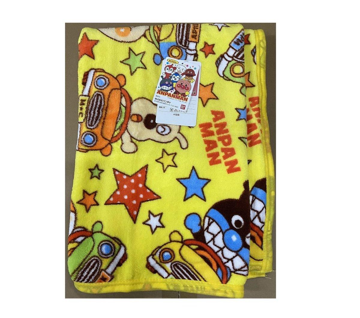 Bandai 麵包超人 毯 (黃色)