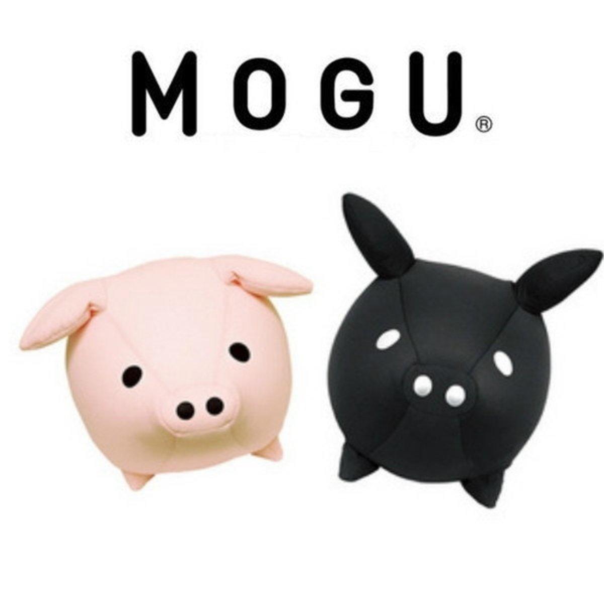 Mogu Beans Piggy Cushion - Pink