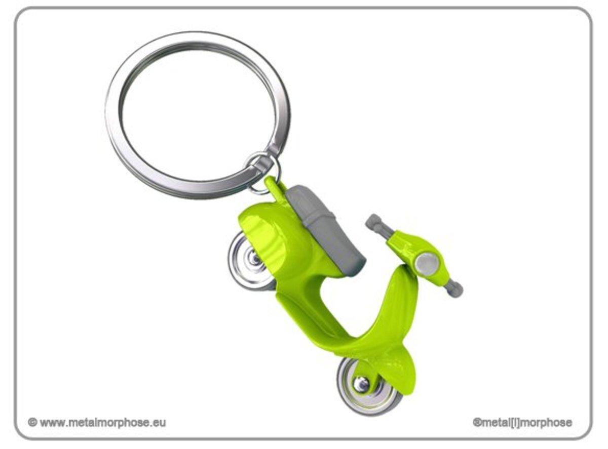 Scooter Lime Key Holder