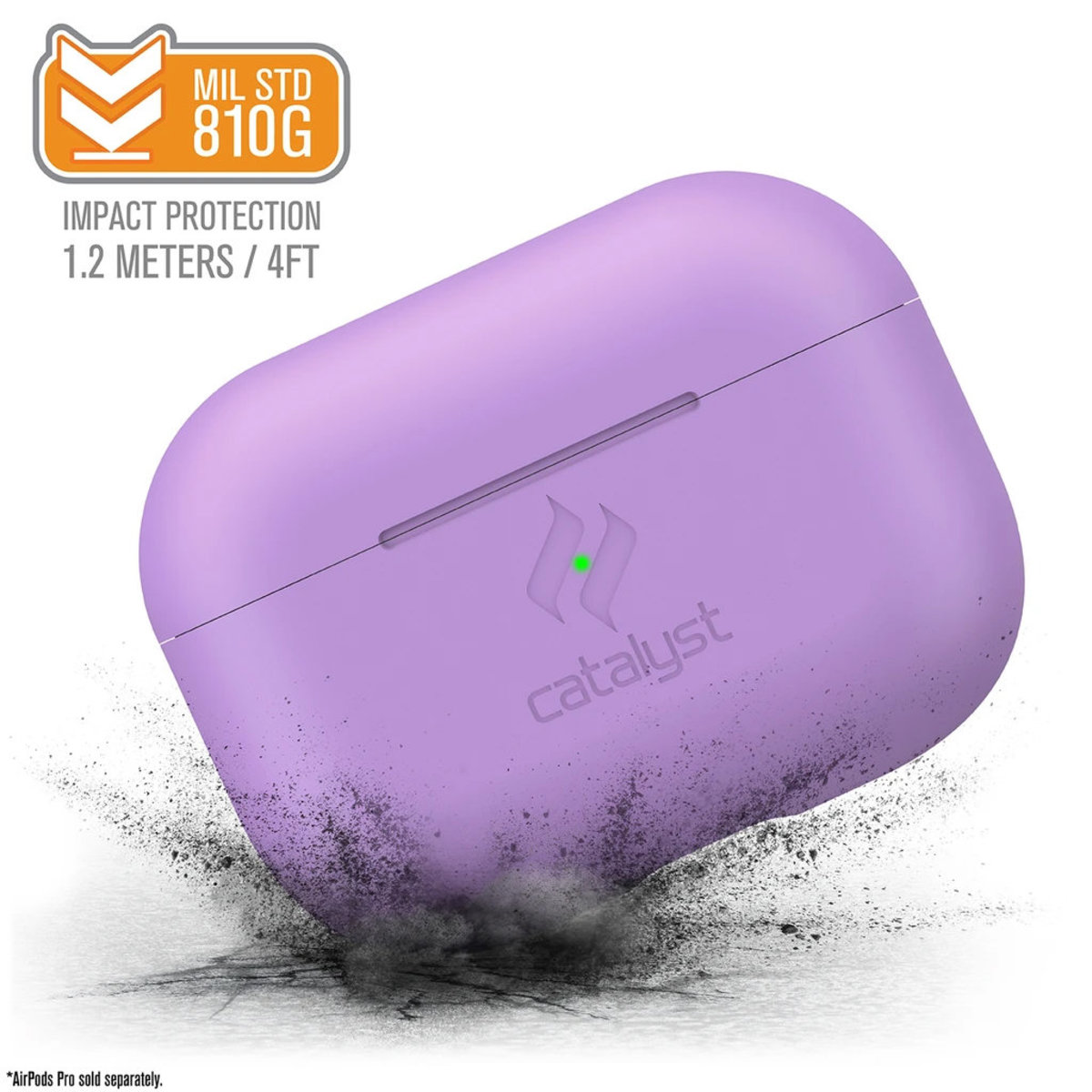 Slim Case for AirPods Pro - Lilac