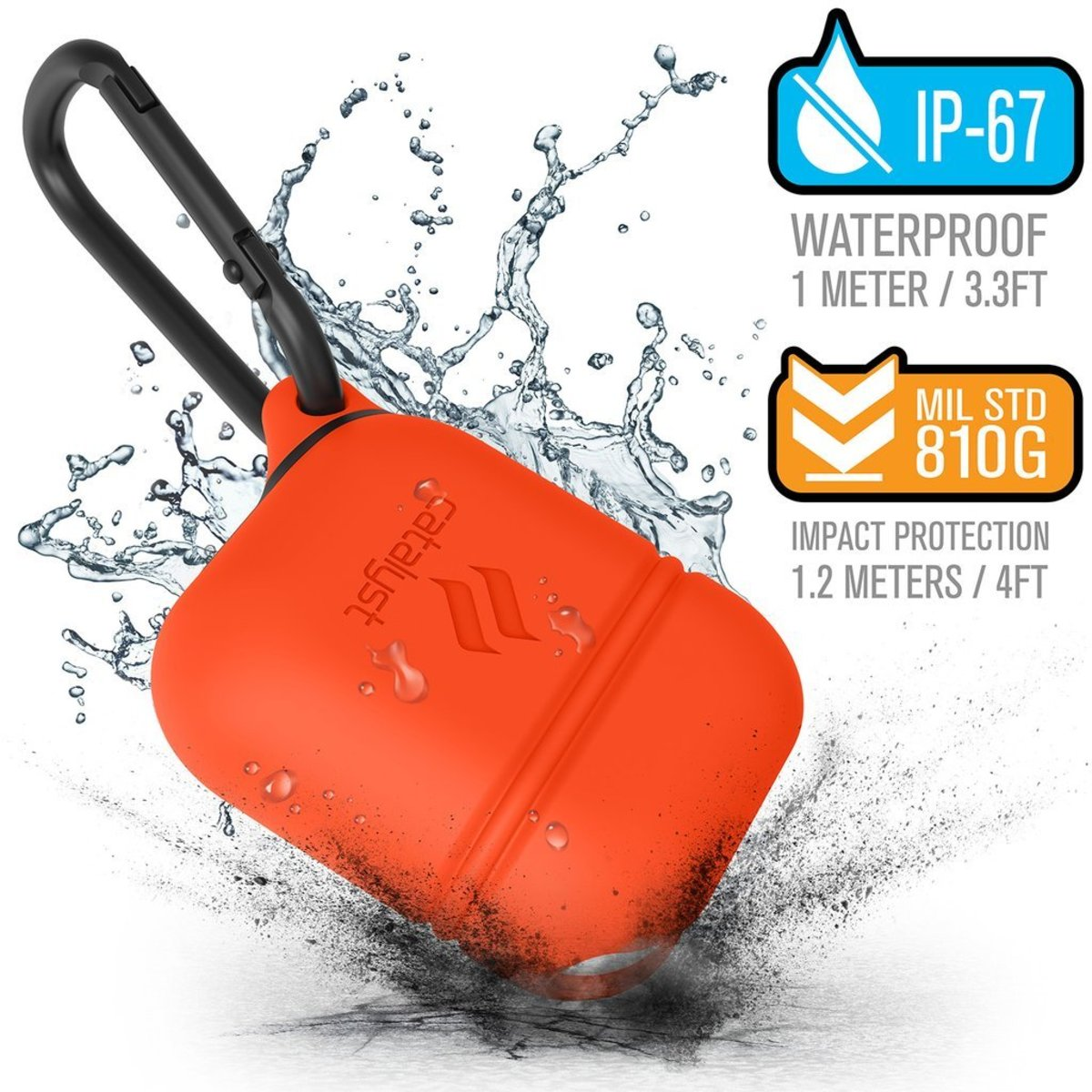 Waterproof Case for AirPods - Sunset