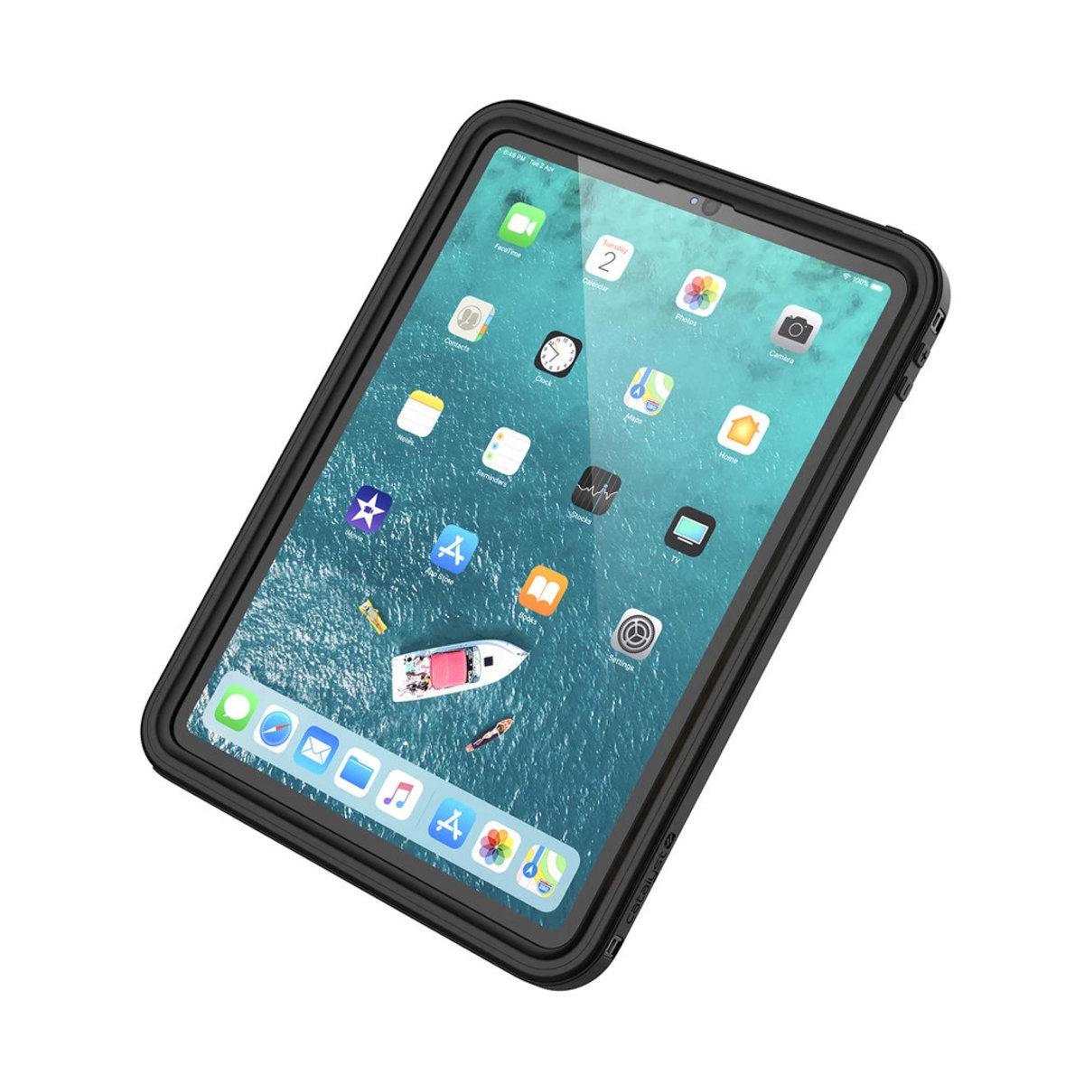 """Waterproof Case for 11"""" iPad Pro (1st Gen 2018) - Stealth Black"""