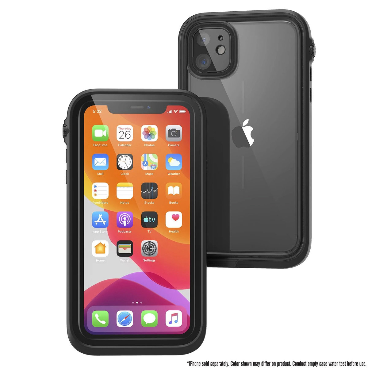 Waterproof Case for iPhone 11 - Stealth Black
