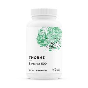 Thorne 鹽酸小蘗鹼-500強效配方-60粒