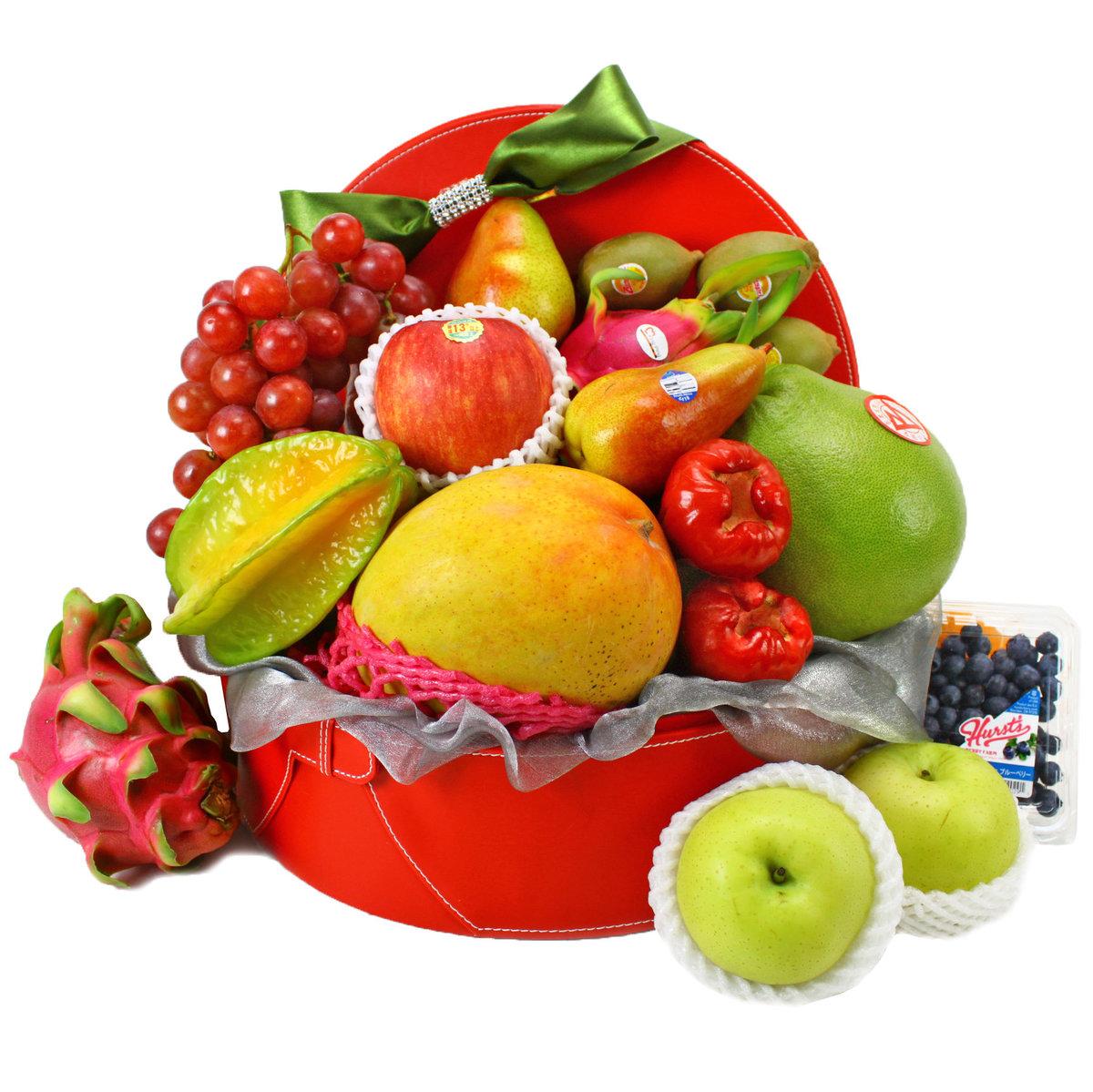 Delux Fruit hamper F003