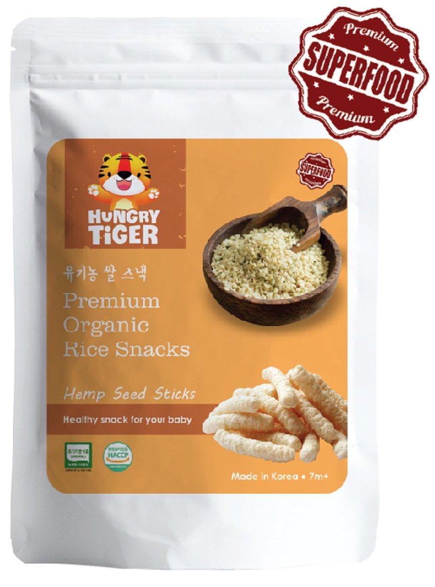 有機大麻籽玄米條30克 (7m+)