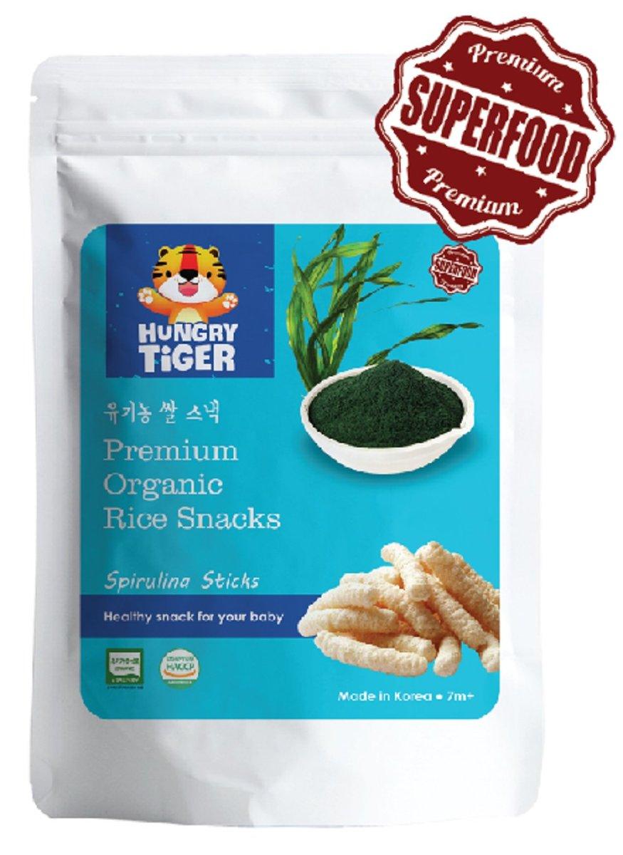 有機螺旋藻玄米條30克 (7m+)