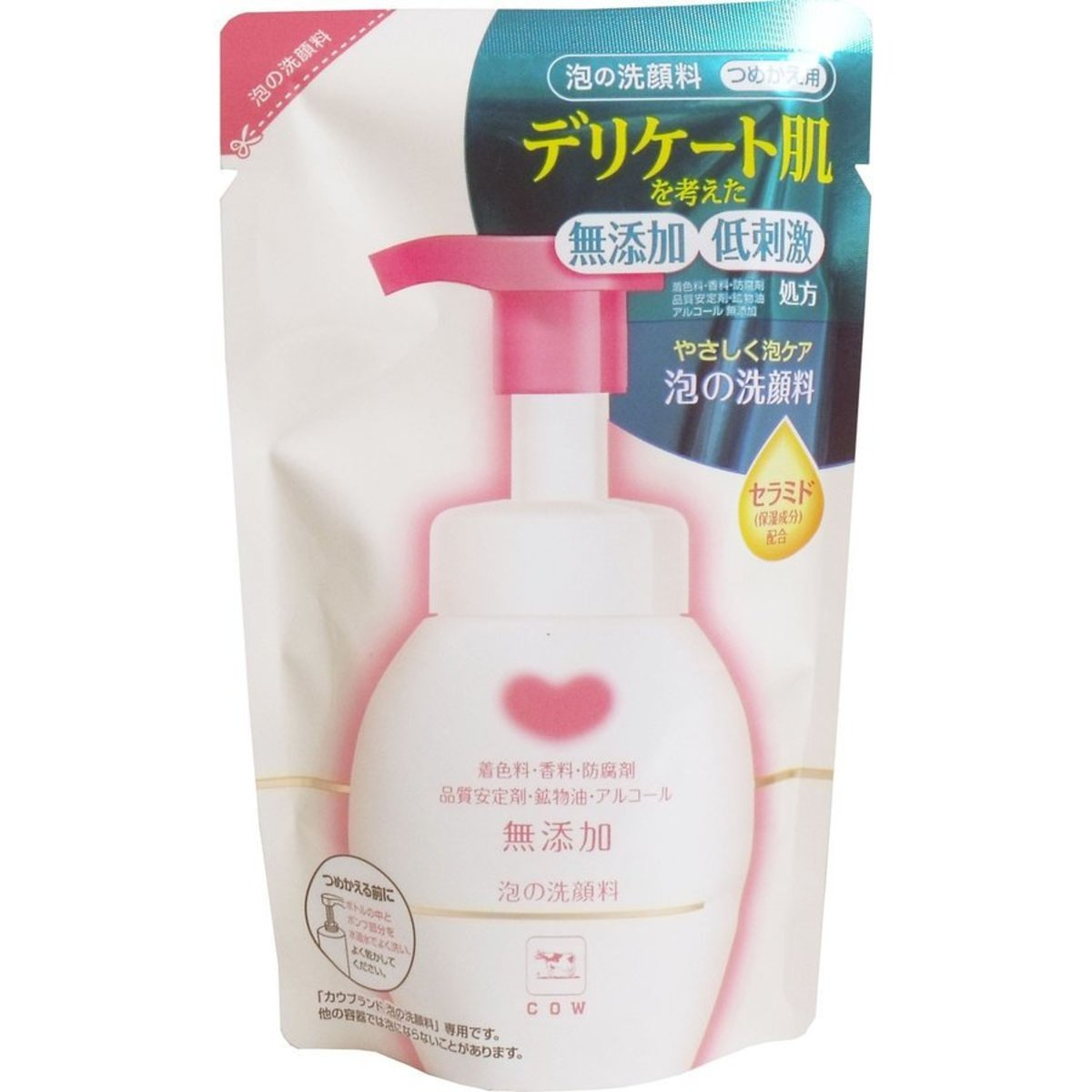 No added cleansing foam 180ml supplement