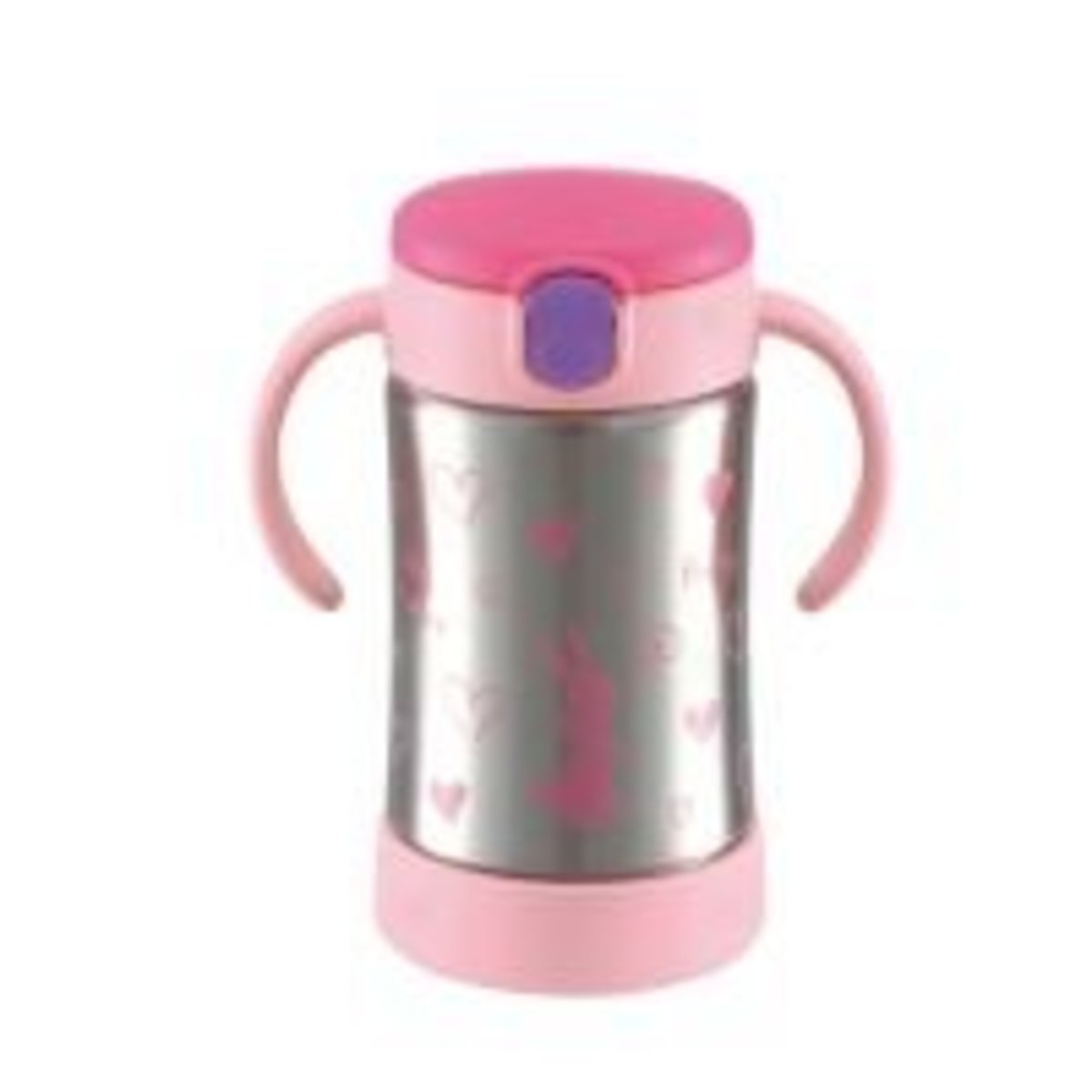TLI infant baby suction nozzle straw cup cold water security type 270ml (together since 7 months) powder