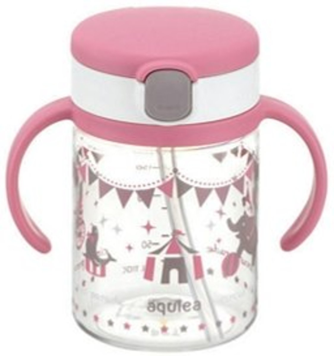 From 7 months Aqulea straw style drinking cup (200ml) P
