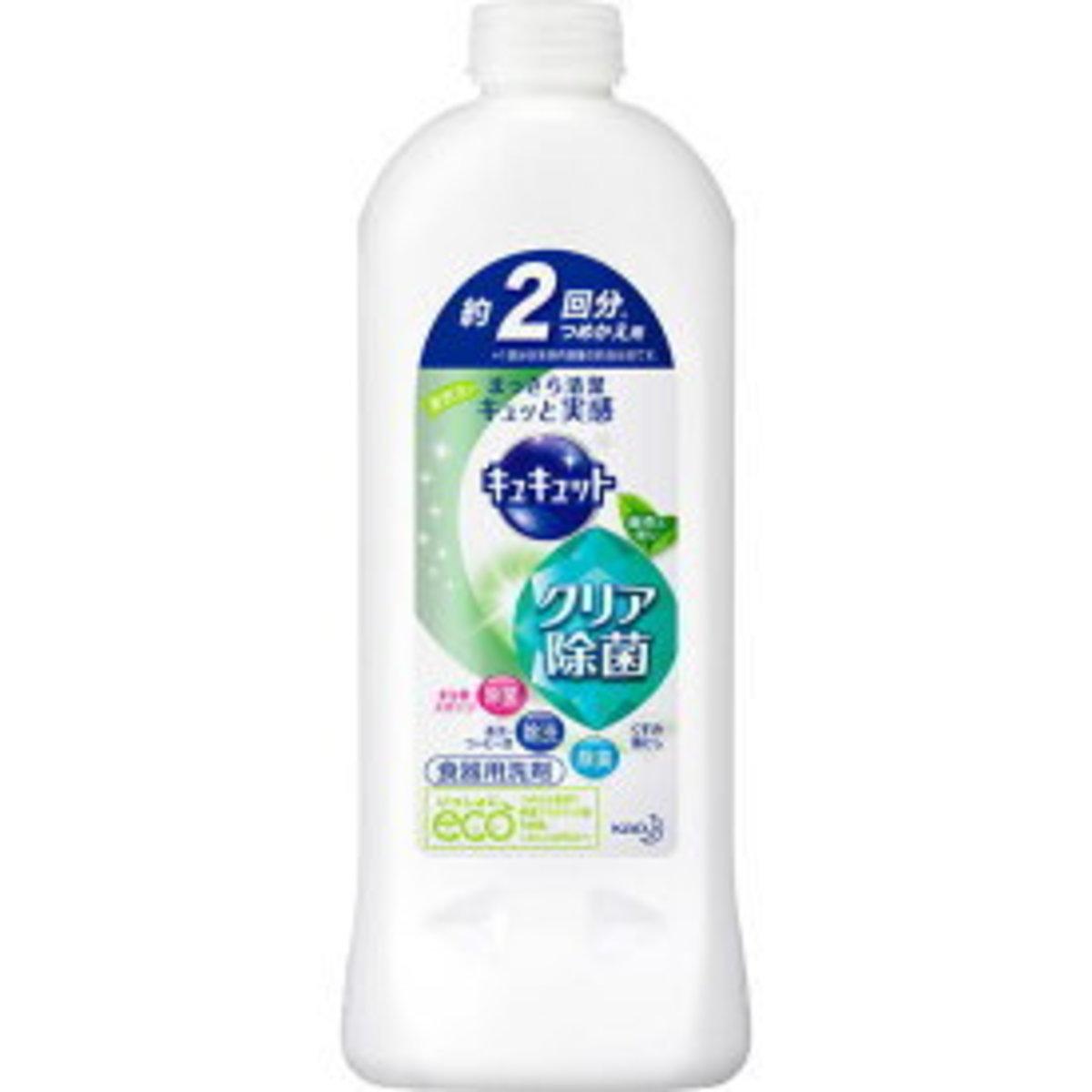 Cucute super-concentrated detergent sterilization (green tea incense) 385ml supplement village