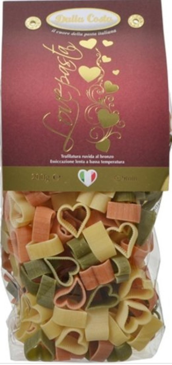 Heart colorful penne 200g