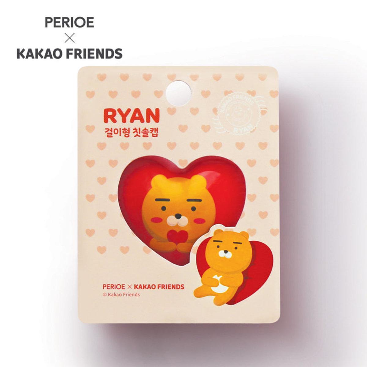 KaKao Friends 超幼細刷毛牙刷掛鉤 (Ryan Love )