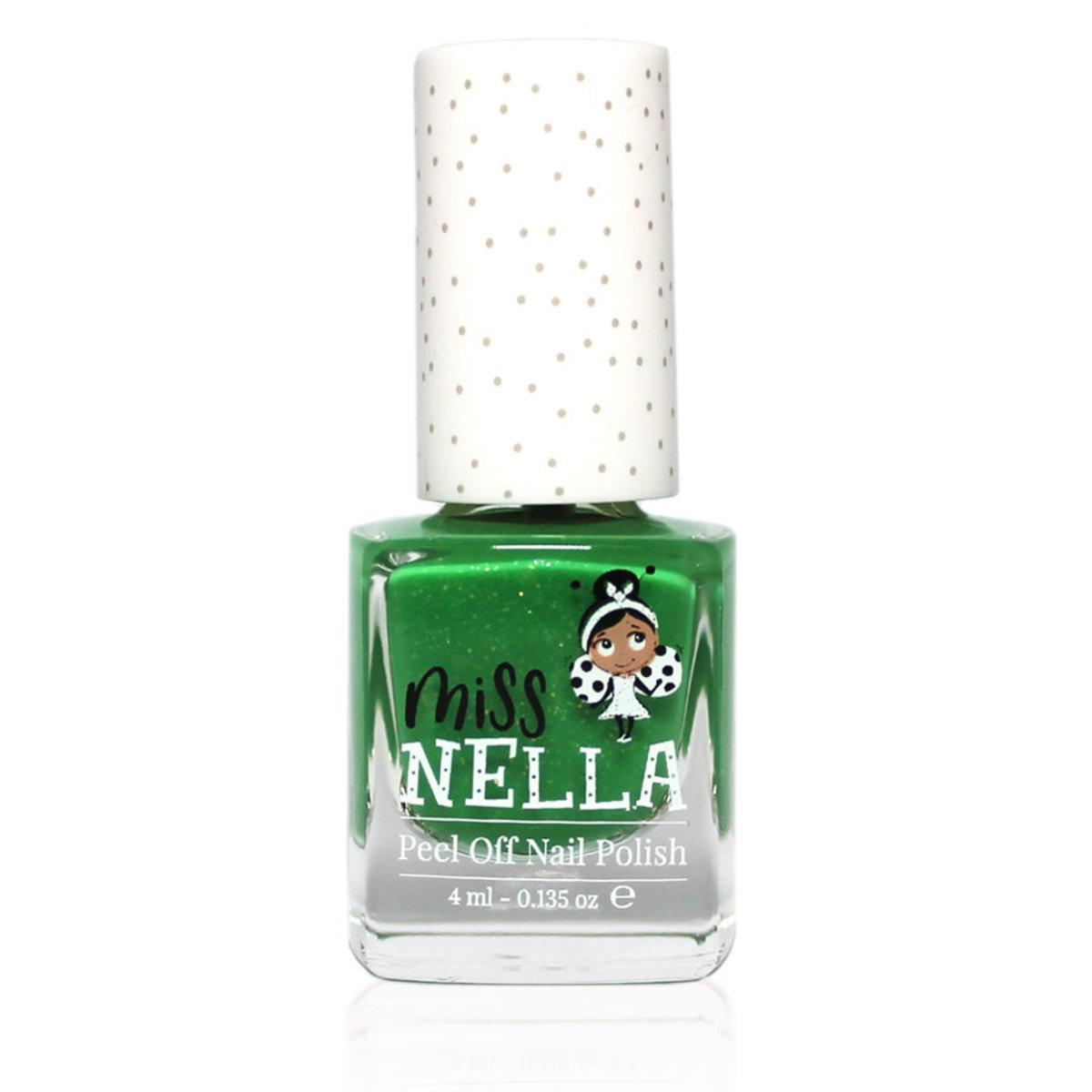 兒童即撕水性指甲油 - 亮片青蛙綠 - MN16
