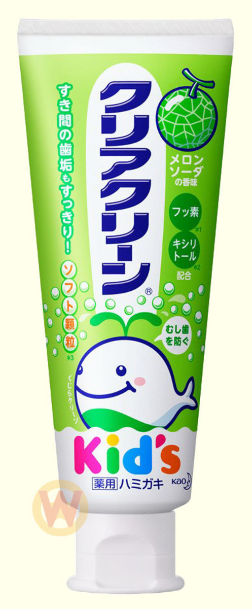 KAO KIDS TOOTH PASTE - MELON [Parallel Import Product]