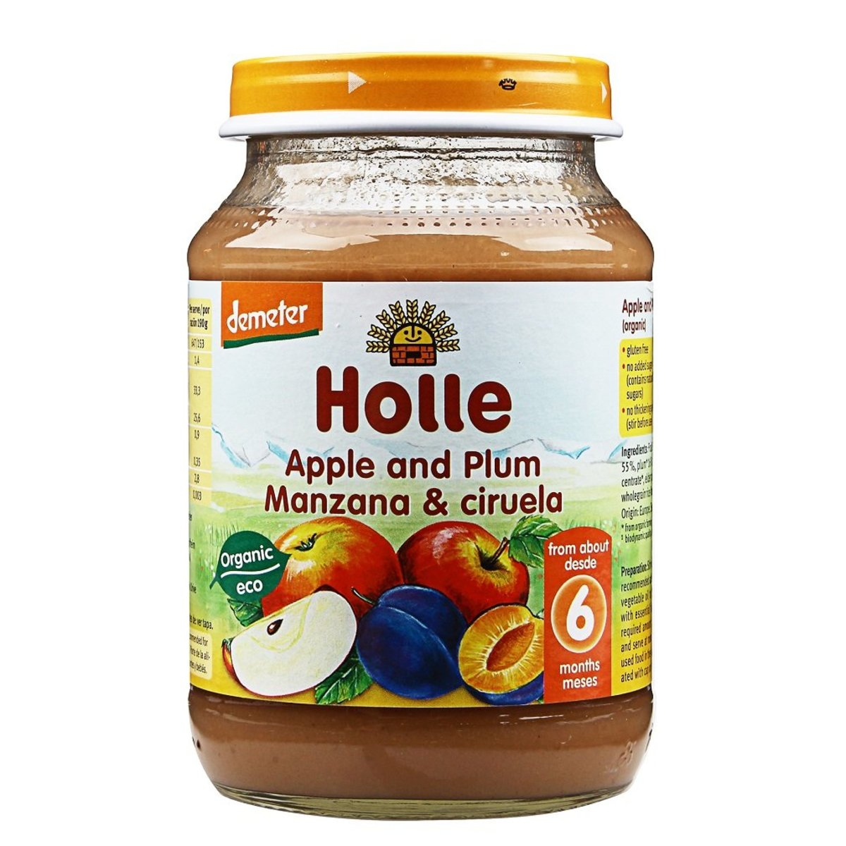 Holle Organic Apple and Plum