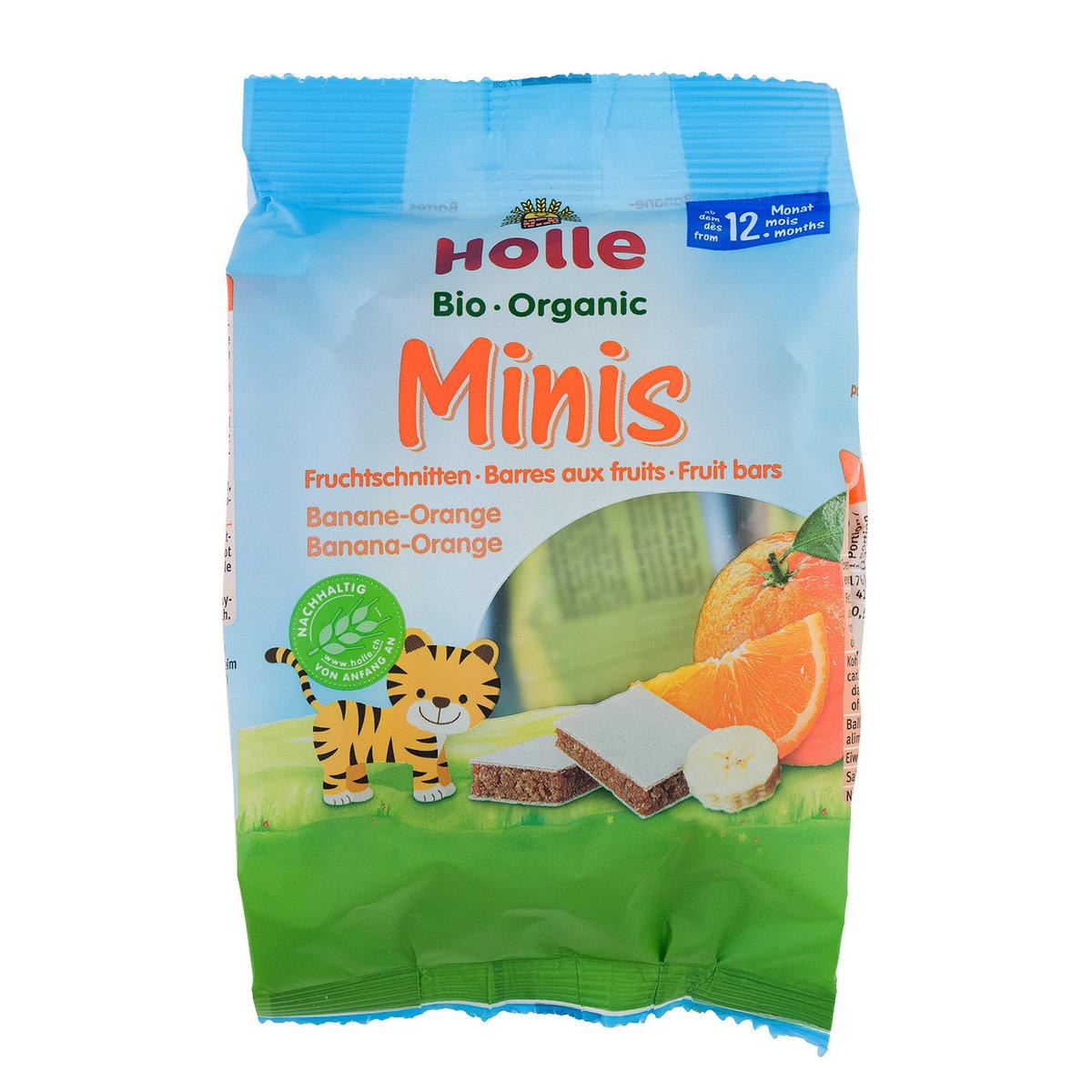 Holle Organic Minis Banana-Orange