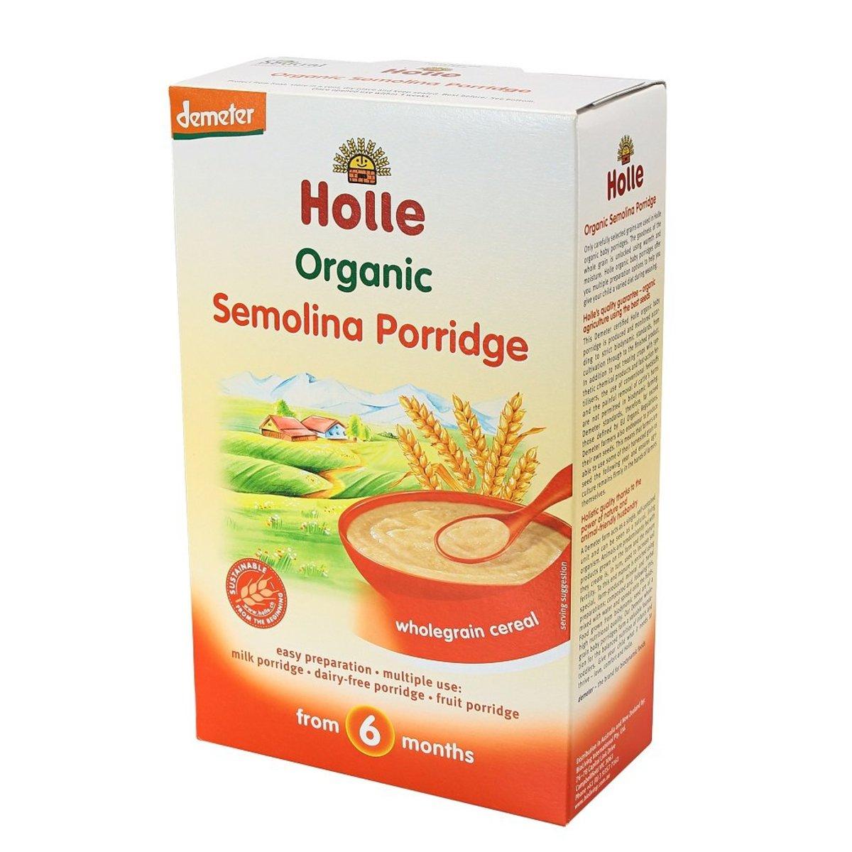 Holle有機粗粒小麥糊