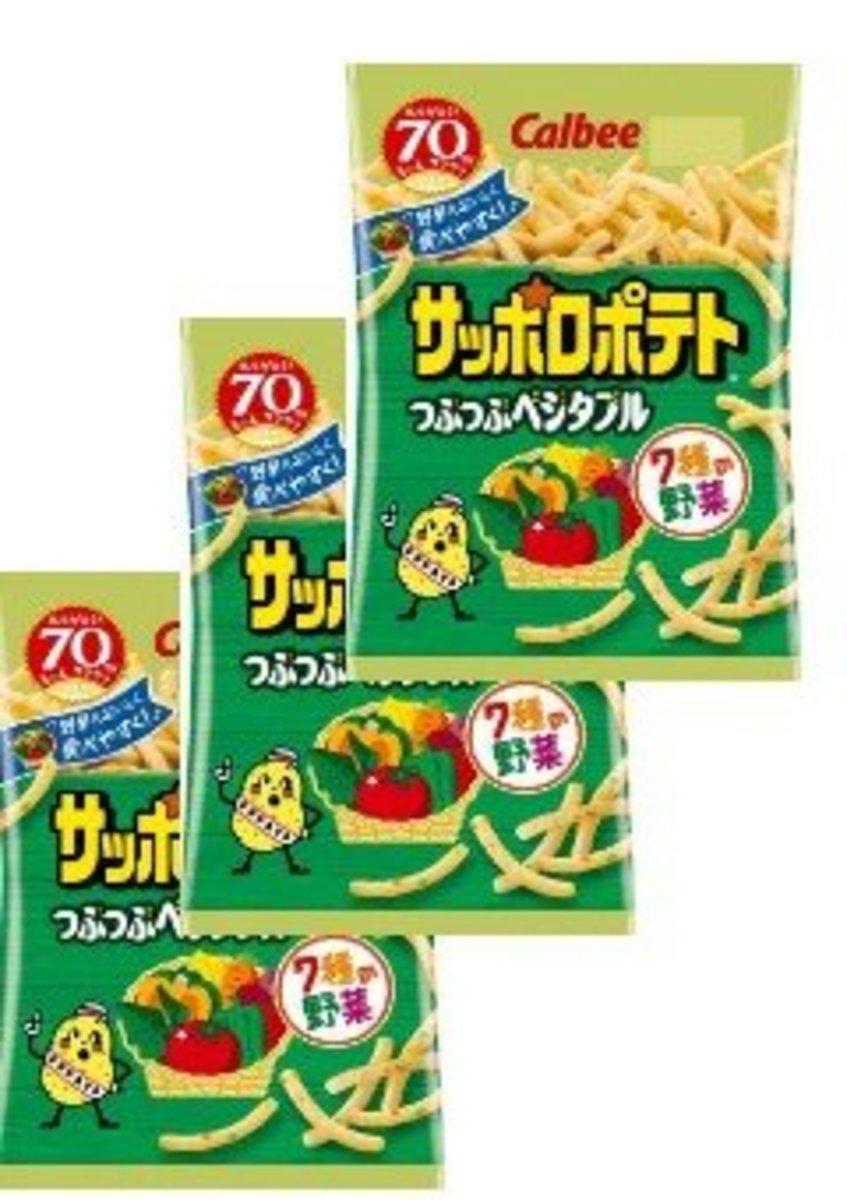 Calbee   3 pcs Japan Version Vegetable Fries(122836
