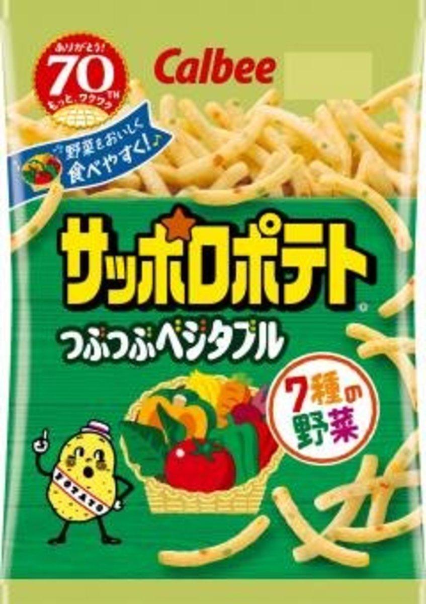 日本版粒粒七種野菜脆條(122836)